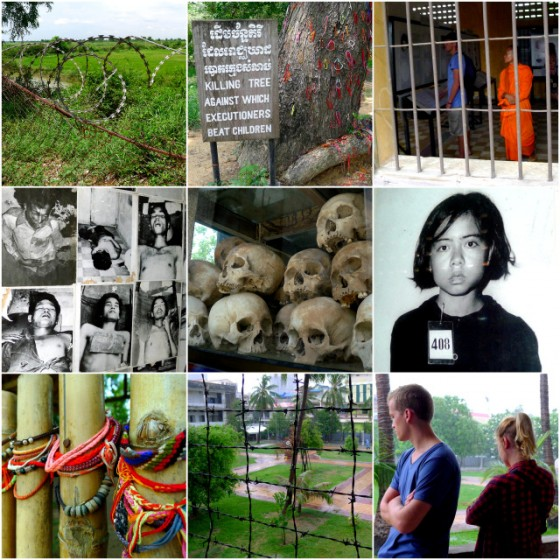 Stark images of the Killing Fields and S-21 Torture Prison in Phenom Penh