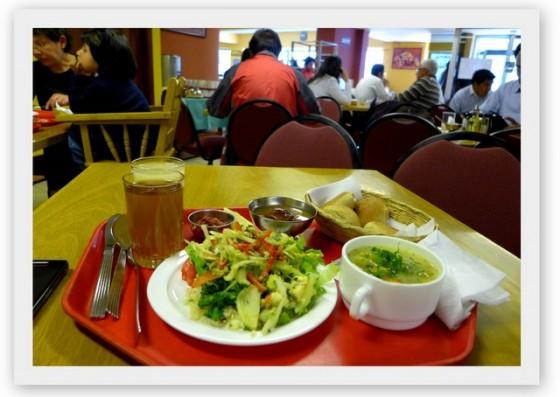 Restaurante vegetariano, La Paz, Bolivia