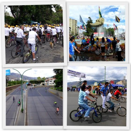 Día del Peatón - Pedestrian Day in Cochabamba