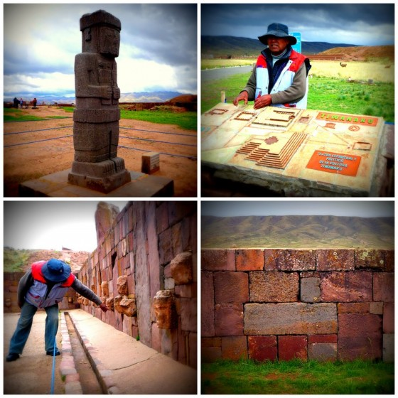 The capital city of th Tiwanaku, the great Andean civilization that preceeded the Incas and who influenced them heavily