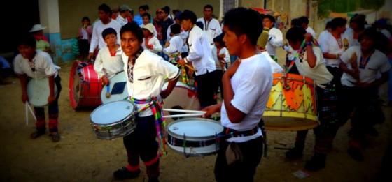 Street fiesta in Tarata