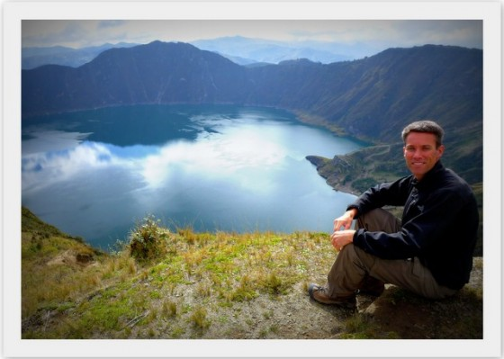 Peter's #1 Natural Wonder: The captivating Quilotoa Crater Lake
