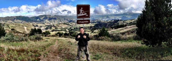 Chuggin' along to Chugchilán