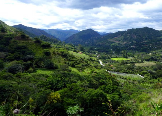 The verdant valley of Vilcabamba