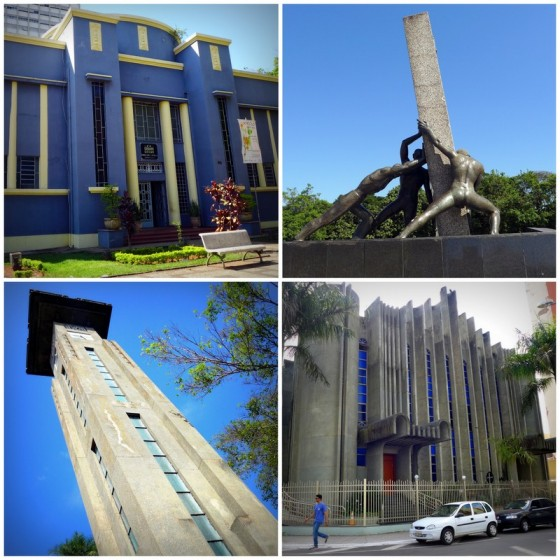 Art Deco rules the day with Goiânia's public buildings and monuments.