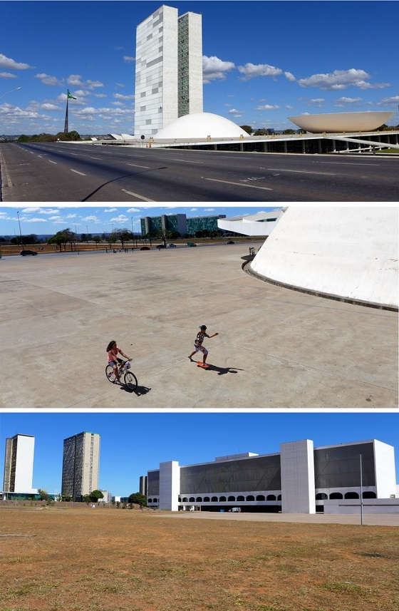 A sparseness pervades Brasília despite the larger-than-life avenues, sprawling <em>praças</em>, and ambitious construction.