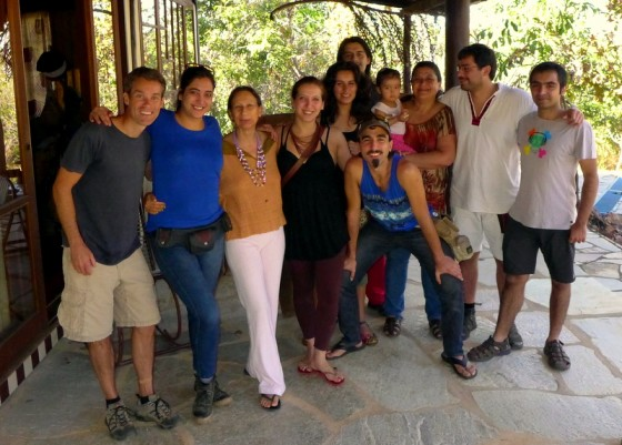 Final photo with the Chilean musicians and Julia
