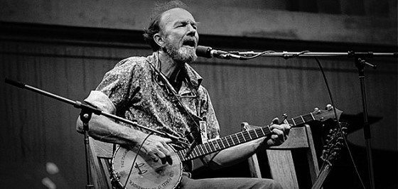 Pete Seeger (1919-2014): My job is to show folks there's a lot of good music in this world, and if used right it may help to save the planet.