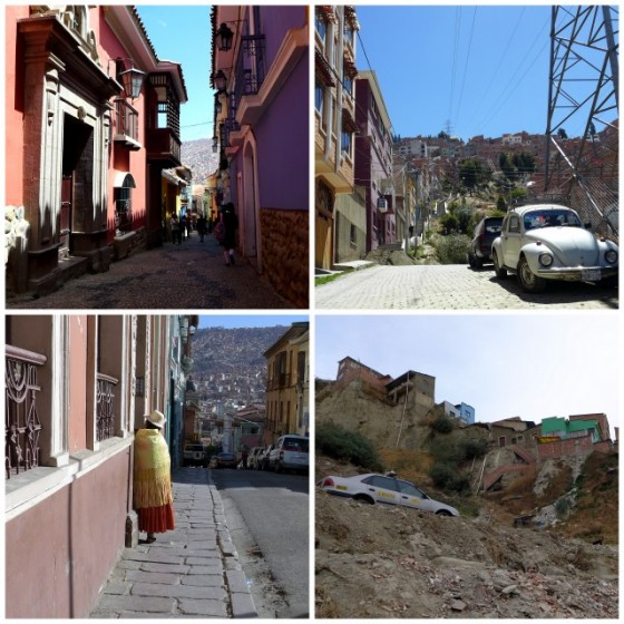 The tipsy-topsy world of La Paz