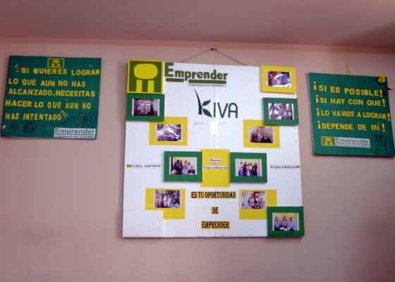 Kiva and Emprender: Friends in the field